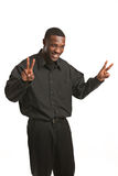 Young Black Business Man Portrait Royalty Free Stock Photography