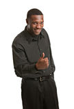 Young Black Business Man Portrait Royalty Free Stock Photos