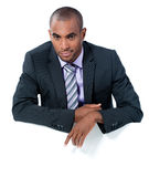 Young black businessman Royalty Free Stock Photo