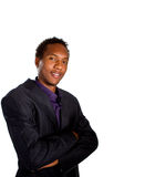 Young black businessman Royalty Free Stock Photography