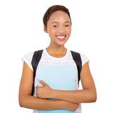 Young black college student Stock Images