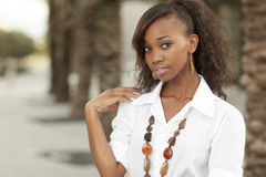 Young black female Stock Photo