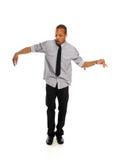 Young Black Hip Hop Dancer performing Stock Photos