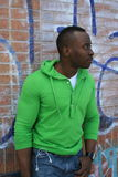 Young black male in Toronto Royalty Free Stock Photography