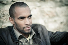 Young black man Royalty Free Stock Images