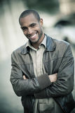 Young black man Royalty Free Stock Image