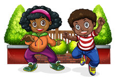Young Black people dancing Royalty Free Stock Photo