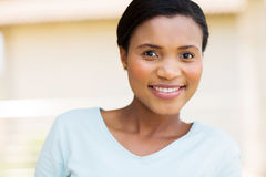 Young black woman stock photo