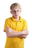 Young blond boy Royalty Free Stock Photos