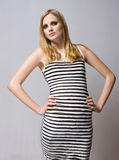 Young blond fashion model. Stock Photography