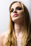 Young blond fashion model. Royalty Free Stock Images