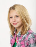 Young blond girl Stock Photography