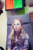 Eye exam Stock Photography