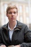 Young blond man Stock Photos