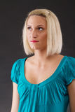 Young blond woman Royalty Free Stock Photography