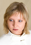 Young blond woman Stock Image