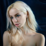 Young blond woman. Stock Images