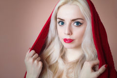 Young blond woman. Royalty Free Stock Images