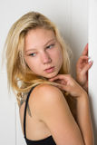 Young blond woman Royalty Free Stock Photo