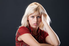 Young Blonde Stock Images