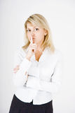 Young blonde Royalty Free Stock Photography