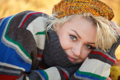 Young blonde portrait Royalty Free Stock Photos