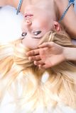Young blonde woman Royalty Free Stock Photography