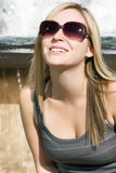 Young Blonde Woman stock image
