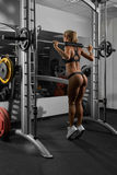 Young blonde woman in gym Royalty Free Stock Photography