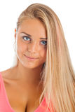 Young blonde woman Royalty Free Stock Photos