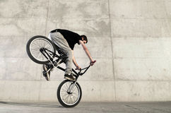 Free Young BMX Bicycle Rider Royalty Free Stock Photo - 21716275