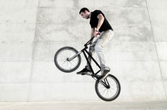 Free Young BMX Bicycle Rider Stock Image - 21716311