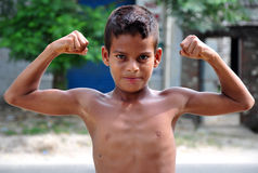 Young body builder Royalty Free Stock Images