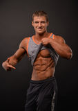 Young bodybuilder Stock Images