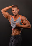 Young bodybuilder Stock Photography
