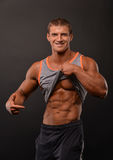 Young bodybuilder Stock Photos