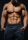 Young bodybuilder Royalty Free Stock Photos