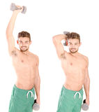 Young bodybuilder Royalty Free Stock Image