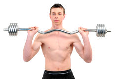 Young Bodybuilder Royalty Free Stock Photography