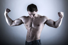 Young Bodybuilder Man Stock Images