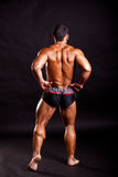 Young bodybuilder posing Royalty Free Stock Photography