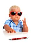Young boss. Stock Images