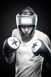 Young boxer Royalty Free Stock Photo