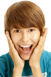 Young boy Stock Images