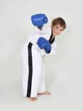 Young boy boxer Royalty Free Stock Image