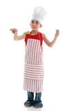 Young boy chef Stock Photography