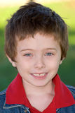 Young boy close-up Stock Images