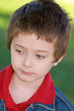Young boy close-up Royalty Free Stock Images