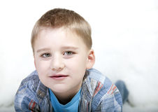 Young boy closeup Stock Image