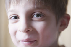 Young Boy With Cute Smile Royalty Free Stock Images